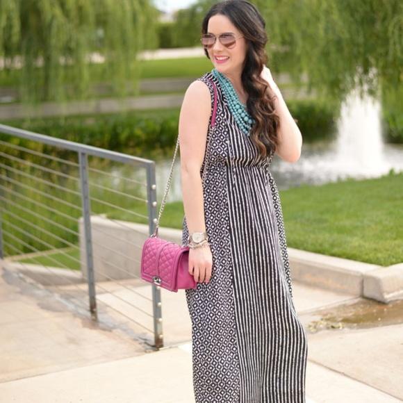 LOFT Dresses & Skirts - NWT LOFT mosaic stripe maxi dress